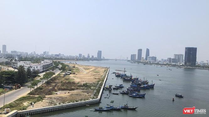 Một góc đô thị ven sông Hàn, TP Đà Nẵng