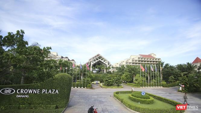 Dự án FDI-khu nghỉ dưỡng Crowne Plaza tại khu vực sân bay Nước Mặn, quận Ngũ Hành Sơn TP Đà Nẵng