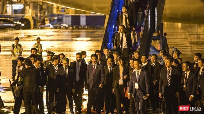 Thủ tướng Nhật Bản Shinzo Abe đến Đà Nẵng trong khuôn khổ Hội nghị thượng đỉnh APEC 2017.