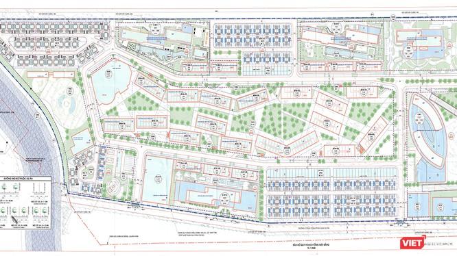 Bản đồ quy hoạch chi tiết TL 1:500 Phân khu quy hoạch số 01 - Khu nghỉ dưỡng và nhà ở cao cấp The Empire