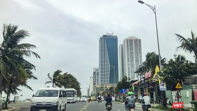 Đường ven biển Võ Nguyên Giáp (quận Sơn Trà, TP Đà Nẵng) có mức tăng giá mạnh trong vài năm trở lại đây