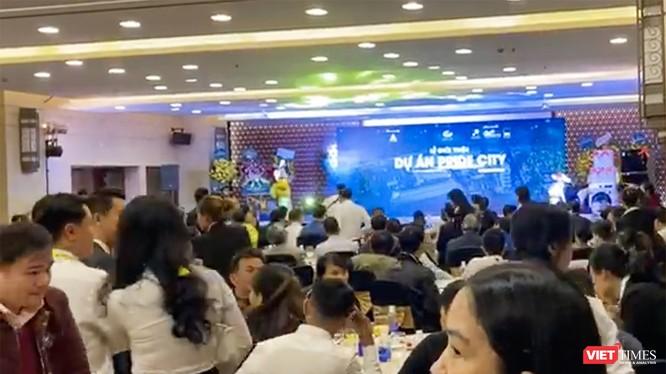 Lễ giới thiệu và thực hiện các hoạt động đặt chỗ mua sản phẩm tại Dự án Khu dân cư mới 2A - Pride City do Công ty TNHH XD-TM Phong Hải Thịnh làm chủ đầu tư