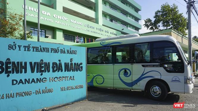 Bệnh viện Đà Nẵng, nơi thực hiện điều tẻij, cách ly các trường hợp nghi mắc bệnh viêm đường hô hấp cấp do nCov gây ra