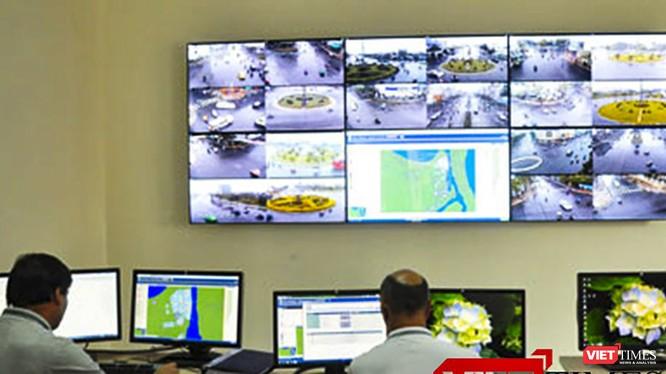 Đà Nẵng đã áp dụng giám sát, điều hành hệ thống giao thông qua camera giao thông