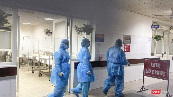 Khu vực cách ly đặc biệt đối với bệnh nhân nghi nhiễm virus Corona chủng mới tại Bệnh viện Đà Nẵng