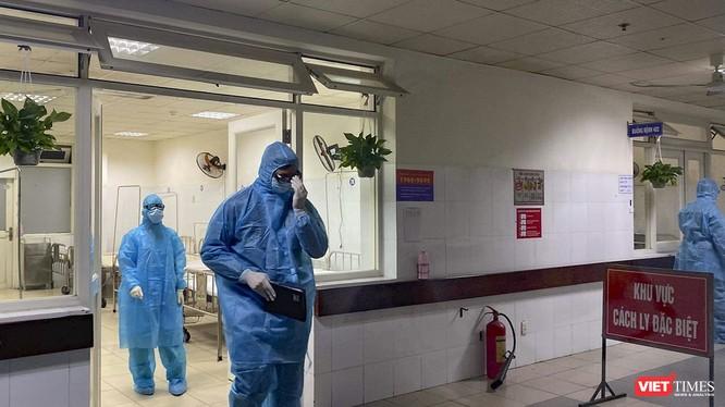 Khu cách ly điều trị bệnh nhân nghi mắc COVID-19 ở Đà Nẵng