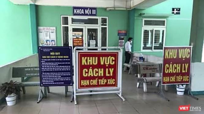 Tính đến 8h sáng 25/2 đoàn khách Hàn Quốc vẫn được cách ly tại khu cách ly của Bệnh viện Phổi Đà Nẵng