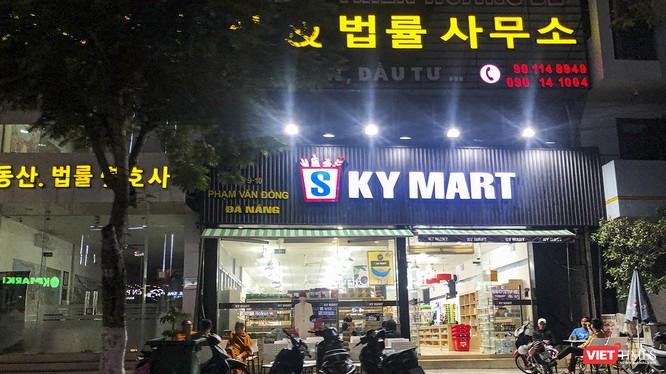 Một siêu thị phục vụ người Hàn Quốc trên đường Phạm Văn Đồng, quận Sơn Trà, TP Đà Nẵng