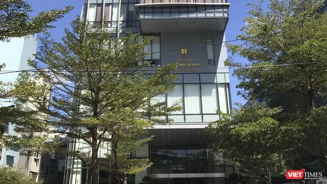 Khách sạn Sông Hàn Đà Nẵng, nơi dự kiến bố trí cách ly đoàn khách Hàn Quốc từ Daegu đến Đà Nẵng