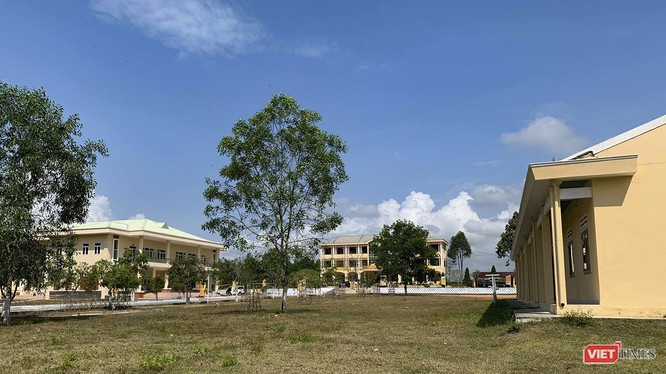 Một góc trung tâm cách ly tập trung đối với công dân Việt Nam từ vùng có dịch COVID-19 về nước tại Đà Nẵng