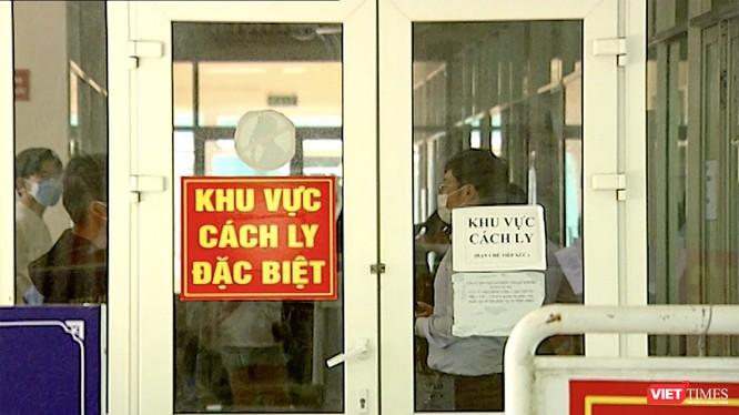 Khu cách ly đặc biệt đối với bệnh nhân nghi nhiễm COVID-19 tại Bệnh viện Phổi Đà Nẵng