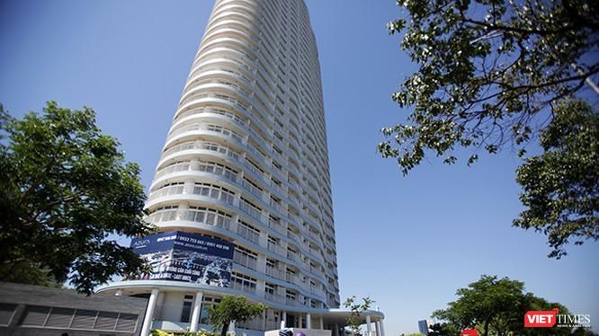 Tòa nhà Azura (Đà Nẵng), nơi có nhóm người Hàn Quốc sinh sống