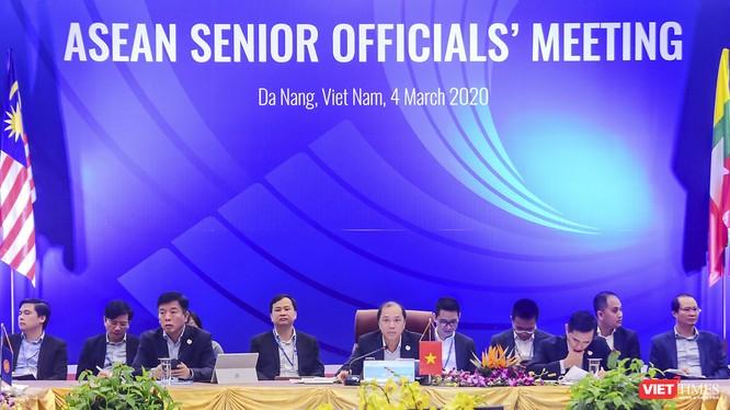 Đại diện Việt Nam trong vai trò chủ tọa Hội nghị Quan chức Cao cấp ASEAN (ASEAN SOM)