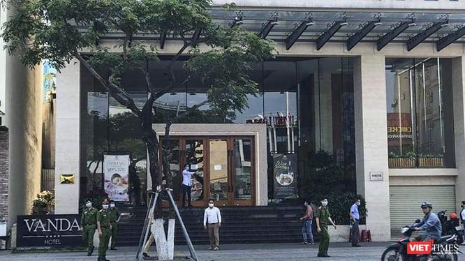 Khách sạn Vanda (Đà Nẵng), nơi 2 du khách người Anh nhiễm COVID-19 lưu trú
