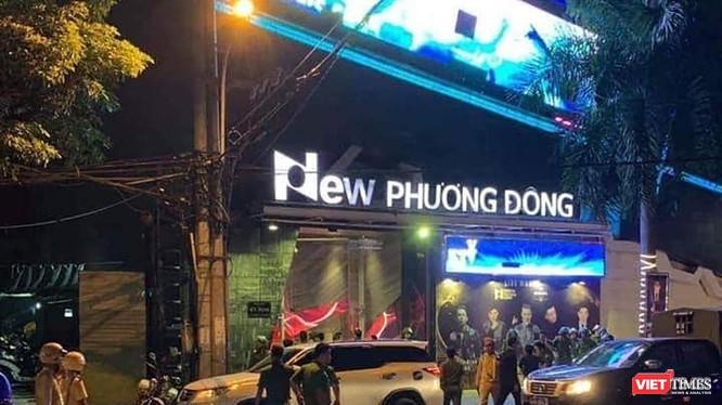 Vũ trường New Phương Đông trên đường Đống Đa, quận Hải Châu, TP Đà Nẵng
