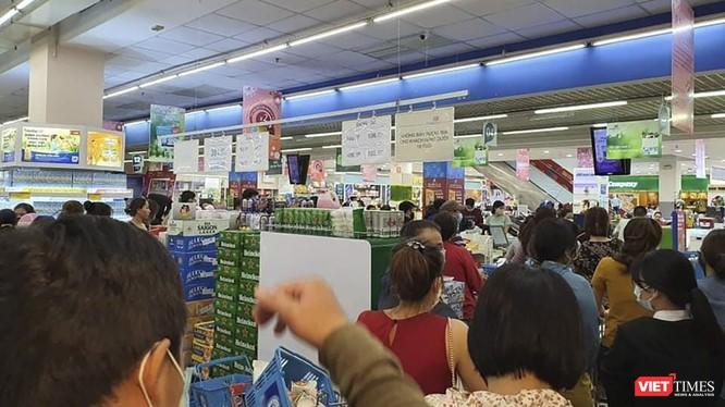 Các siêu thị và các chợ trên địa bàn TP Đà Nẵng đã chuẩn bị sẵn sàng các mặt hành nhu yếu phẩm để phục vụ người dân