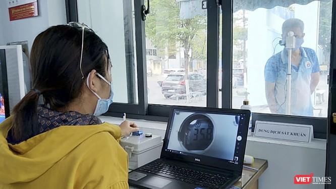 Thiết bị đo thân nhiệt từ xa được thử nghiệm tại Đại học Đà Nẵng