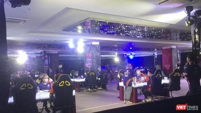 Hiện trường sự kiện thi đấu game do Công ty cổ phần VNG tổ chức tại Cocobay Đà Nẵng