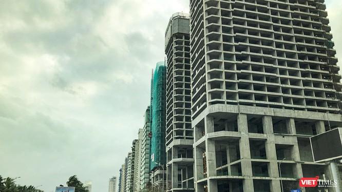 Các công trình xây dựng ven biển Đà Nẵng