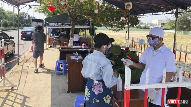 Quảng Nam tiếp tục kiểm soát chặt người và phương tiện ra vào địa phương thông qua các chốt kiểm soát dịch COVID-19