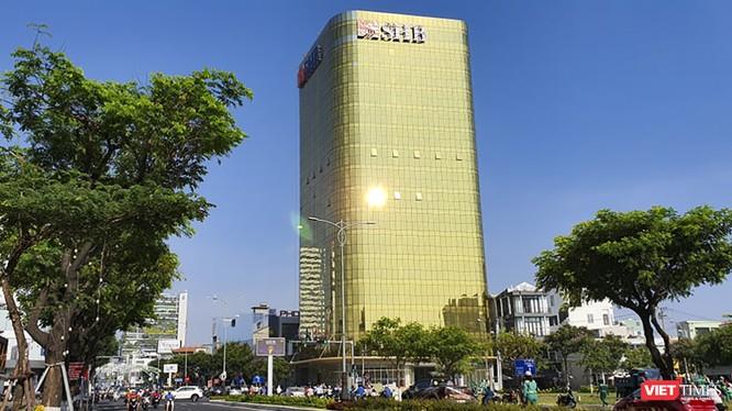 Tòa nhà Ngân hàng SHB trên đường Nguyễn Văn Linh, Đà Nẵng