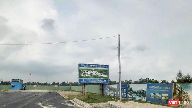 Một góc Dự án 7B mở rộng do Công ty CP Bách Đạt An làm chủ đầu tư tranh chấp với nhà môi giới Công ty CP Đầu tư Hoàng Nhất Nam