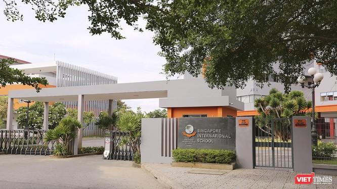 Trường liên cấp quốc tế Singapore tại Đà Nẵng (SIS), bị đơn trong vụ kiện dân sự do ông Nguyễn Văn Tuấn làm nguyên đơn