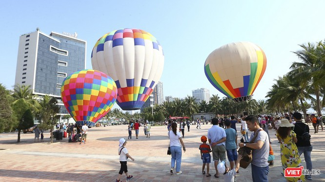 Lễ hội khinh khí cầu tại Đà Nẵng.