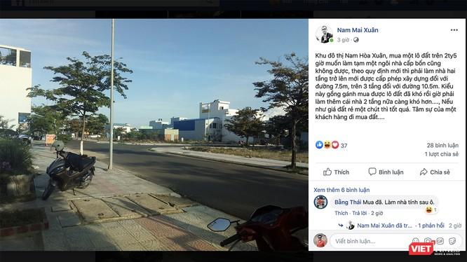 Thông tin quy định tầng cao xây dựng tại khu đô thị Nam Hòa Xuân (Đà Nẵng) thu hút sự quan tâm của cộng đồng mạng