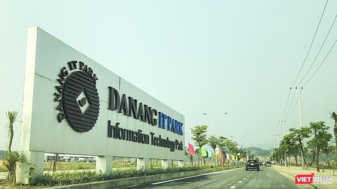 Một góc Khu công nghiệp công nghệ thông tin Đà Nẵng