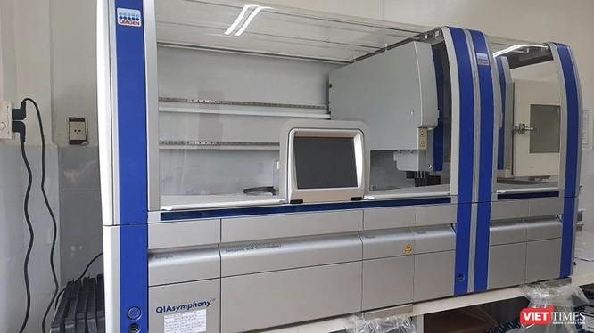 Hệ thống xét nghiệm Real – time PCR tự động tại CDC Quảng Nam