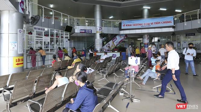 Bệnh viện Phụ sản - Nhi Đà Nẵng, một trong những bệnh viện tiên phong trong việc ứng dụng bệnh viện thông minh vào khám chữa bệnh cho người dân của ngành y tế Đà Nẵng