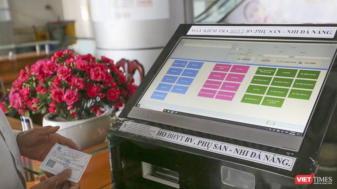 Bệnh viện Phụ sản - Nhi Đà Nẵng đã áp dụng quét mã ID cho bệnh nhân đến khám chữa bệnh tại bệnh viện