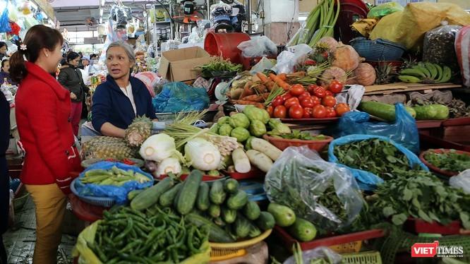 Đà Nẵng áp dụng dán tem QR code kiểm soát đối với một số sản phẩm thực phẩm tại các chợ trên địa bàn