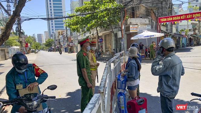 Khu vực dân cư xung quanh 3 bệnh viện tại trung tâm TP Đà Nẵng bị phong tỏa, cách ly