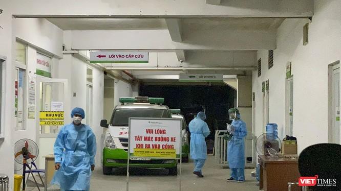 Khu vực cách ly bệnh nhân COVID-19 Bệnh viện Hoàn Mỹ Đà Nẵng trong đợt dịch COVID-19 lần 2