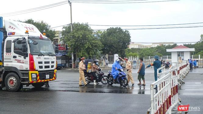 Chốt kiểm soát phòng dịch tại cửa ngõ ra vào tỉnh Quảng Nam trong giai đoạn dịch COVID-19 bùng phát đợt 2