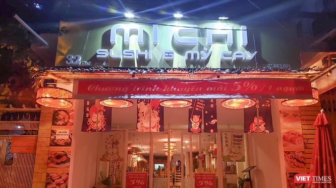 Cửa hàng MICHI SUSHI & MÌ CAY, số 32 Thái Phiên, Đà Nẵng