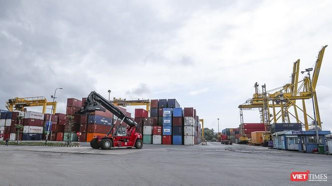 Kho hàng hóa container Cảng Tiên Sa, Đà Nẵng