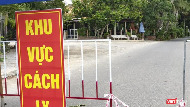 Khu vực cách ly phòng dịch COVID-19 tại Quảng Nam