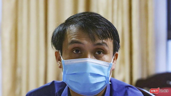Bác sĩ nội trú Bùi Văn San - Khoa Tâm thần (Bệnh viện Bạch Mai) - thành viên của Tổ bác sĩ tâm lý tại TP Đà Nẵng