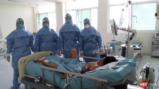 Ca bệnh mắc COVID-19 đang được điều trị tại Quảng Nam