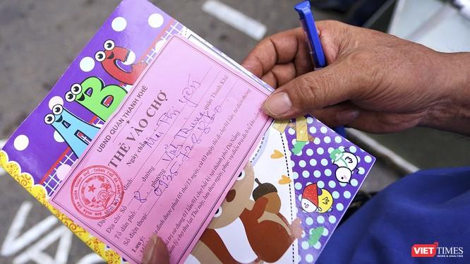 Đà Nẵng chính thức tái sử dụng thẻ đi chợ bắt đầu từ ngày 8/5 để phòng chống dịch COVID-19