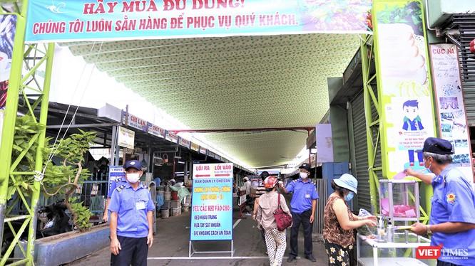 Đà Nẵng tiếp tục thực hiện phân luồng tần suất đi chợ của người dân trên địa bàn