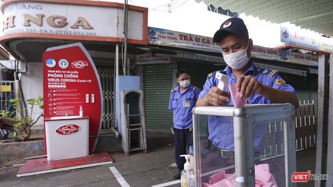Đà Nẵng áp dụng kiểm soát người dân đi chợ bằng phiếu để phòng dịch COVID-19