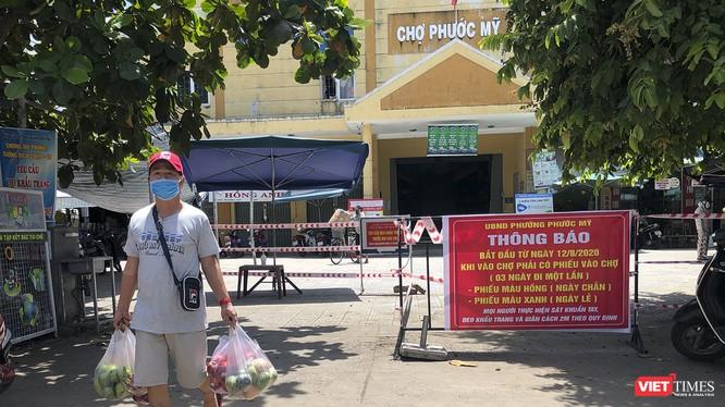 Các chợ truyền thống trên địa bàn Đà Nẵng tăng cường phòng, chống dịch COVID-19