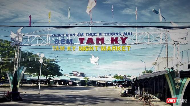 Khu vực chợ đêm Vườn Lài, TP Tam Kỳ, Quảng Nam
