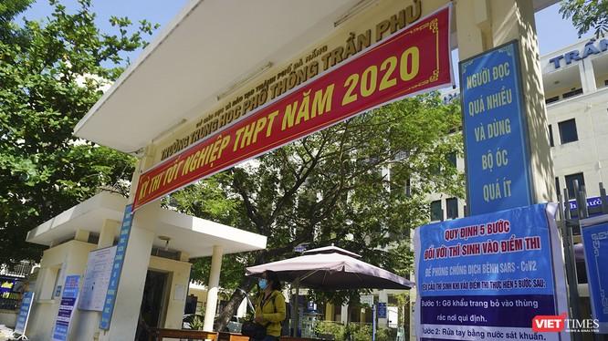 Điểm thi tốt nghiệp THPT trường THPT Trần Phú (Đà Nẵng)