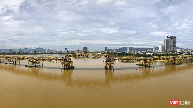 Một góc TP Đà Nẵng nhìn từ sông Hàn