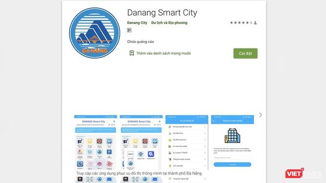Ứng dụng DaNang Smart City trên di động vừa được Đà Nẵng đưa vào sử dụng